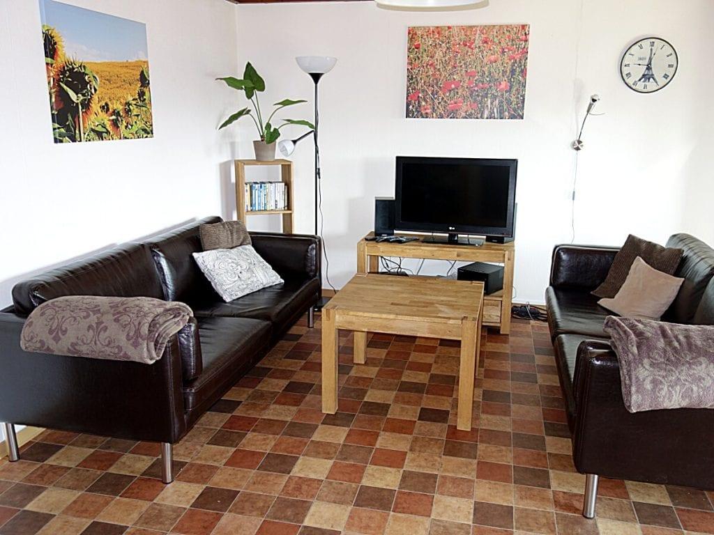 Wohnzimmer im Haus Mohnblume Haus 93 im Feriendorf Öfingen